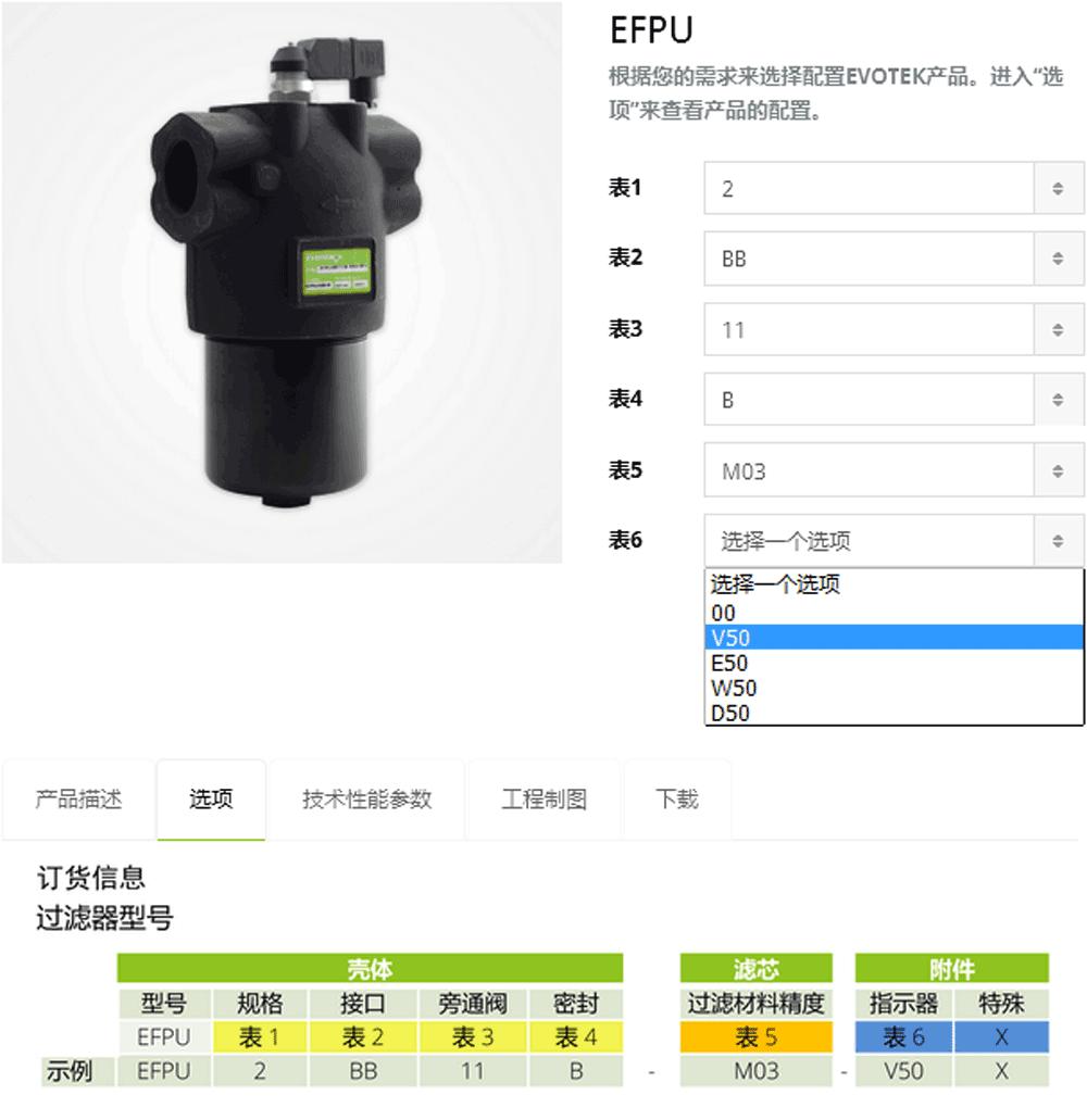 海富泰可产品配置快速指南