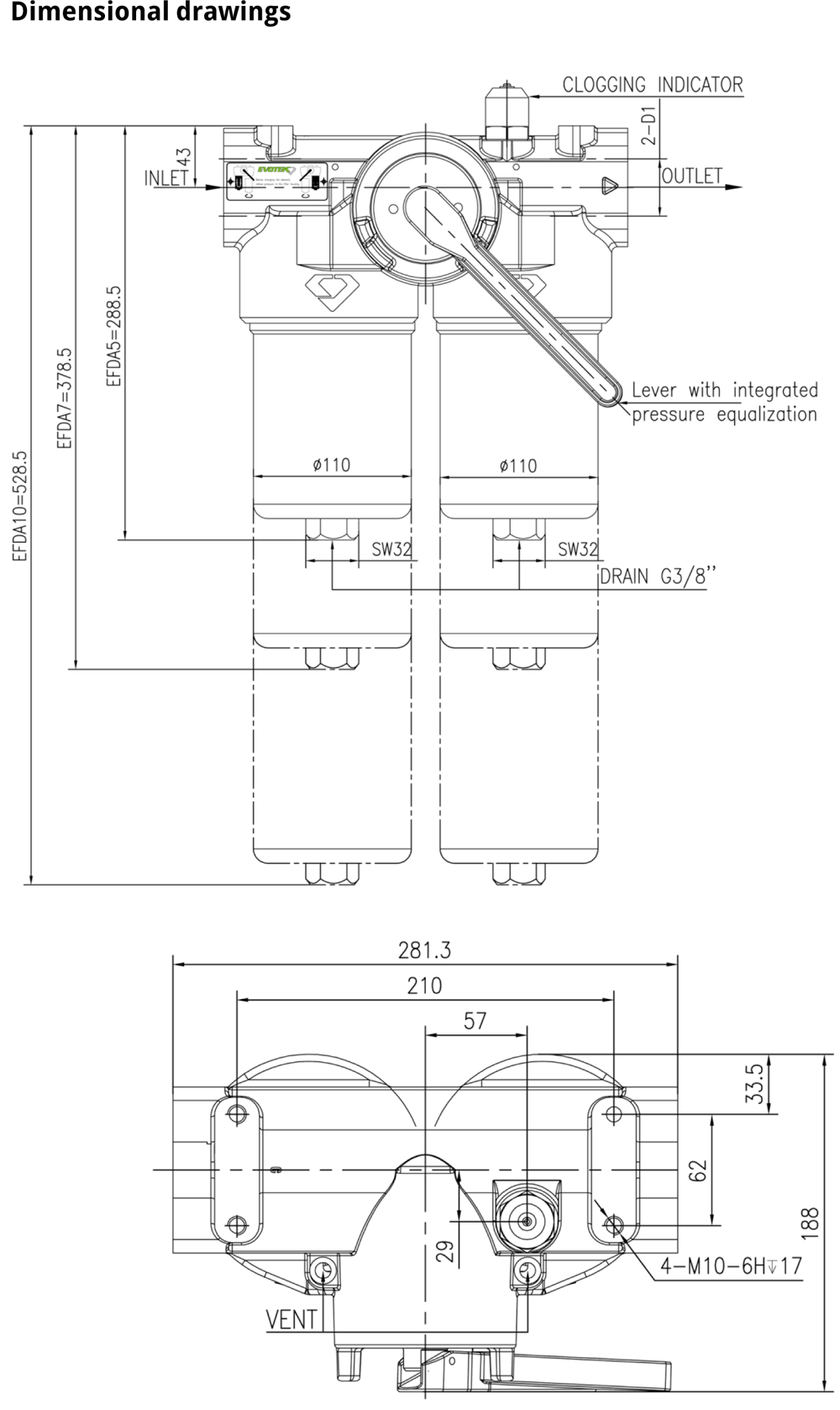 Evotek EFDA schematic drawing