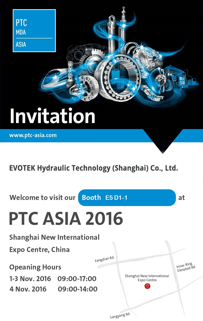 EVOTEK invitation to PTC2016