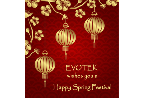 EVOTEK Wishes Happy Spring Festival